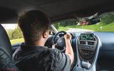 Aston Martin DBS Superleggera 2018 first drive review Matt Saunders driving