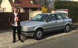 Audi 80 - static front
