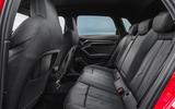 Audi A3 TFSIe 2020 UK first drive review - rear seats