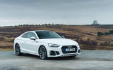 Audi A5 Coupe 2020 UK first drive review - static