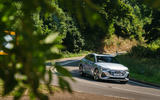 Audi E-tron Sportback 55 2020 UK first drive review - cornering front