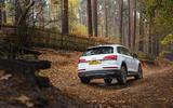 Audi Q5 40 TDI Sport 2020 UK first drive review - static rear