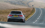 Audi RS6 2020 UK first drive review - on the road rear