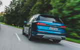Audi SQ7 2020 first drive review - on the road rear