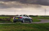 Audi TT Roadster 2019 UK first drive review - cornering rear
