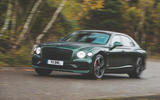Bentley Flying Spur 2020 UK first drive review - on the road