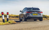 BMW 2 Series Gran Coupe M235i 2020 UK first drive review - on the road rear
