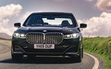 BMW 7 Series 730Ld 2019 UK first drive review - on the road nose