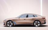 BMW i4 Concept 2020 - stationary side