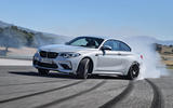 BMW M2 Competition 2018 first drive review hero drift