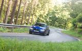 BMW M3 CS 2018 review cornering bends