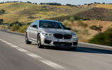 BMW M5 Competition 2018 first drive review on the road
