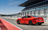 BMW M8 Competition Coupé 2019 first drive review - static rear