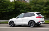 BMW X5 xDrive 45e 2019 first drive review - on the road side