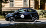 Fiat 500 electric 2021 first drive review - on the road side