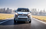 Fiat Panda Cross Hybrid 2020 first drive review - on the road nose