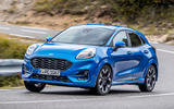 Ford Puma 2020 first drive review - cornering front