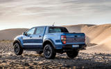 Ford Ranger Raptor 2019 first drive review - static rear