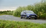 21 Hyundai Bayon 2021 UK FD on road