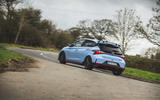 21 Hyundai i20 N 2021 UK first drive review on road rear
