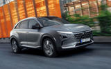 Hyundai Nexo 2019 first drive review on the road front