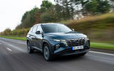 Hyundai Tucson 2020 UK first drive review - on the road front