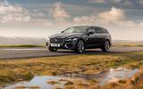 21 Jaguar XF Sportbrake P250 2021 UK review static