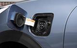 Kia Niro PHEV 2020 UK first drive review - charging port