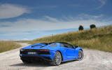 Lamborghini Aventador S 2018 first drive review static rear