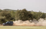 21 Land Rover Defender V8 2021 UK FD dust trail