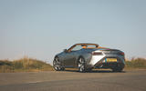 Lexus LC Convertible 2020 UK first drive review - static