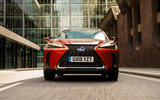 Lexus UX 2019 UK first drive review - on the road nose