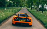 21 Lotus Exige final edition 2021 UK FD tracking rear