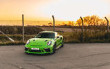 Manthey 911 GT3 RS MR 2020 first drive review - static front