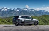 Mercedes-Benz GLS 400D 2019 first drive review - static rear
