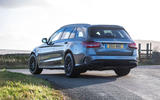Mercedes-AMG C63 S Estate 2019 first drive review - static rear