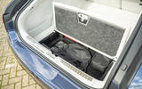 21 Mercedes Benz EQS 2021 UK LHD FD charging cable storage