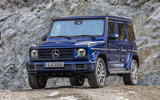 Mercedes-Benz G-Class G350d 2018 first drive review - static front