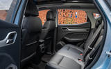 MG ZS EV 2019 UK first drive review - rear seats