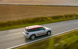 Mini Clubman John Cooper Works 2019 first drive review - on the road side