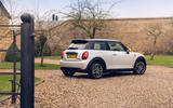 Mini Electric 2020 UK first drive review - static rear