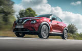 Nissan Juke 2019 first drive review - on the road low