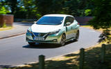 Nissan Leaf 2nd generation (2018) long-term review on the road front
