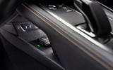 Peugeot 508 Hybrid4 2020 first drive review - smartphone charging