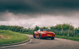 Porsche 718 Boxster GTS 4.0 2020 UK first drive review - on the road rear