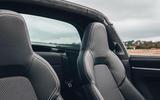 Porsche 911 Targa 2020 UK first drive review - seats