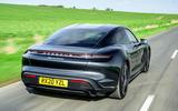 Porsche Taycan Turbo 2020 - hero rear