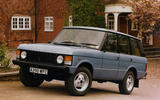 Range Rover Classic - static front