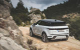 Range Rover Evoque 2019 first drive review - offroad rear