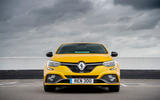 Renault Megane RS 300 Trophy 2019 UK first drive review - static nose